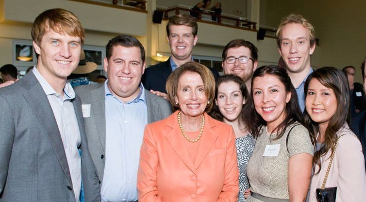 pelosi group shot